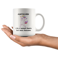 Aunticorn Unicorn coffee mug Unicorn gift Unicorn lover Gift for women Ceramic Custom Mug
