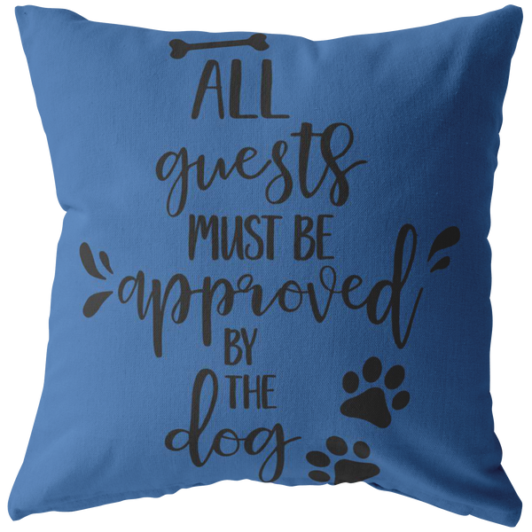 Dog Lovers Throw Pillow Throw Pillow Cover Dog Owner Pillow Decorative Pillow Dog Pillow
