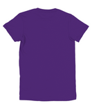 Soft, comfortable and durable Girls  purple t-shirt cotton top .