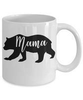 Mama bear coffee mug gift for Mom Mama Mother Custom Mug