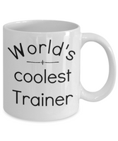 Gift for trainers personal trainer coffee mug athletic trainer