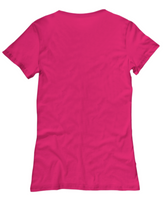 Woman pink Unicorn cotton t-shirt with Good Vibes .