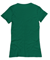 Women's T-Shirt/Don't Get Your Tinsel In A Tangle/Green Christmas Top Gift For Friends