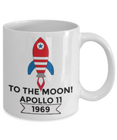 Apollo 11 Coffee Mug 50th Anniversary Souvenir Tea cup