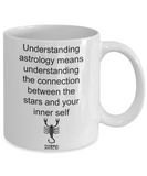 Zodiac coffee mug Scorpio tea cup gift astrology birthday signs mugs with sayings