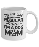 Dog mom Gift Coffee mug Dog Lover Funny Custom mug