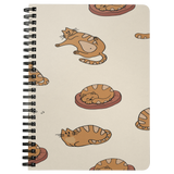 Cat Journal Notebook Spiral Cat Lover Gift Cat Mom  Cat Person Writer Custom Notebook