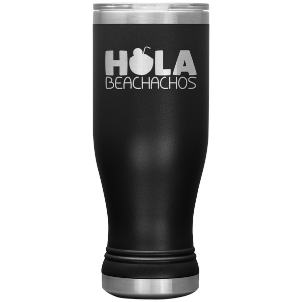 Hola Beachachos Funny Tumbler Cup Mug Summer Coffee Stainless Steel Tumbler Cups