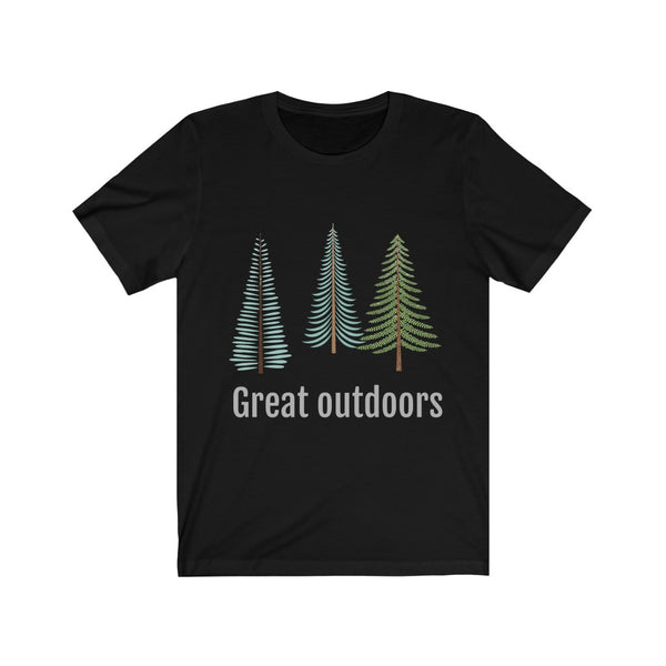 Great Outdoors, Outdoors Shirt, Hiking Shirt, Camping Shirt, Nature T-Shirt, Hike Shirt, Fall Shirt, Custom Shirt Men Women