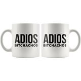 Adios Bitchachos -Women Retirement coffee mug Gift for Retiree Her Coworker Funny Custom Cup