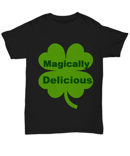 magically delicious black t-shirts