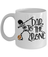 Dab to the bone football mug
