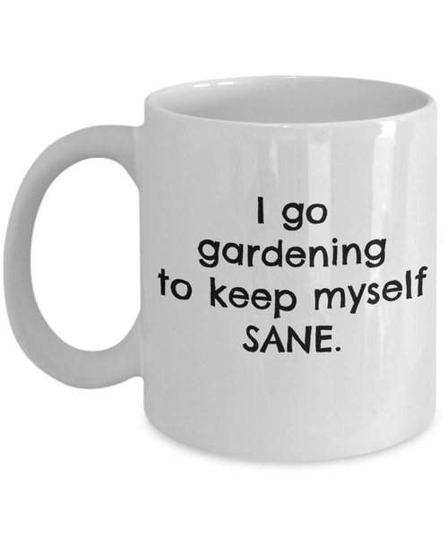 Coffee Mug Garden Plants