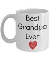 Best Grandpa Ever Funny Novelty Coffee Mug Tea Cup Gift Family Mug With Sayings