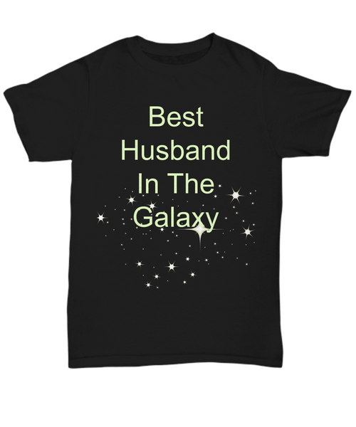 best husband in the galaxy t-shirts