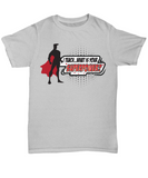 I teach what's your superpowers   Men Gray t-shirt