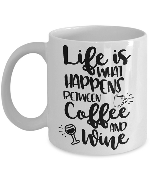 wine lover coffee mug