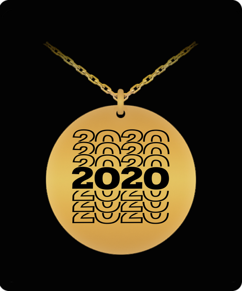 2020 New Year Necklace Gift for Him or Her New Years Gift
