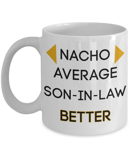 Son-in-law gifts funny mug gifts for son-in-law birthday