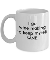 Coffee Mug Wine Making