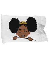 Afro girls pillowcase pillow cover gifts for girls unique