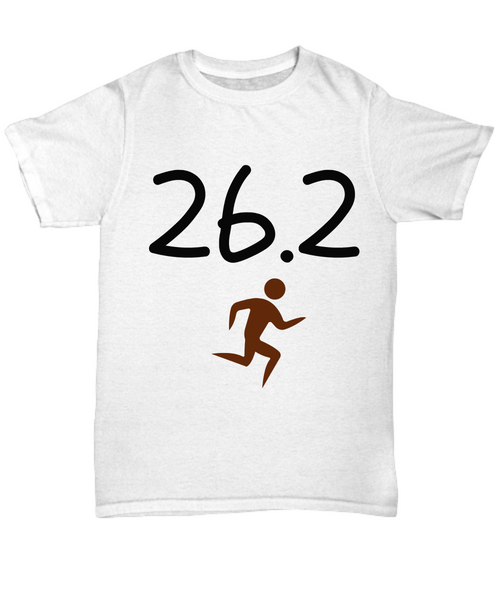 Marathon Novelty T-Shirt Custom Printed T-Shirt Unisex
