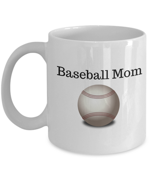 Baseball Mom Novelty Coffee Mug Mother's Day Birthday Sports Mom Gifts For Women