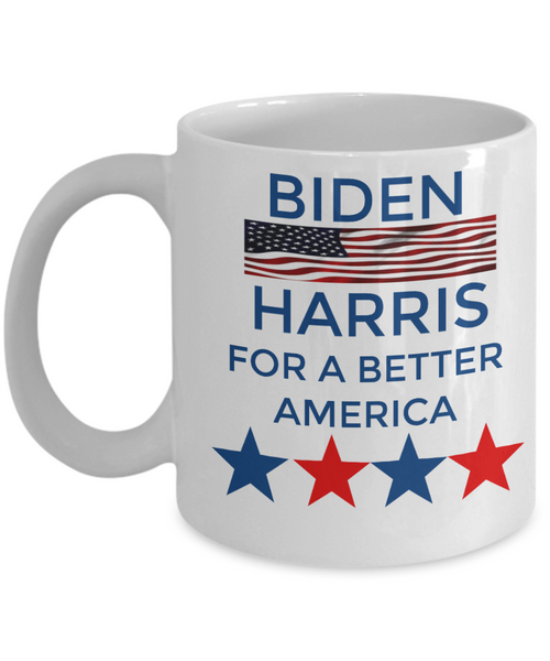 Biden Harris Coffee Mug Custom Mug  Democrat Custom Mug Coffee Gift