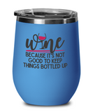 Wine Tumbler Funny Custom Women Wine lover