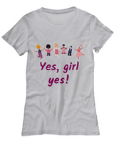 International women's day 2021 graphic t-shirt girl power