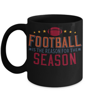 Football Mug  Football Lover Gift  Coffee mug Custom Cup Gift for Women Men Football gift