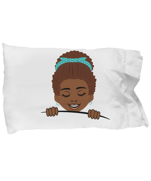 Black girls pillowcase pillow cover gifts for girls unique