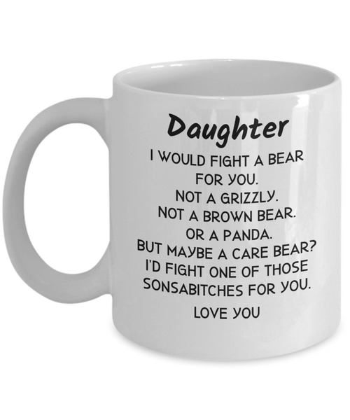 Daughter Coffee Mug Gift For Daughter Funny Mug