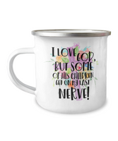 Christian Gift Mug Funny Camp Mug Stainless Steel