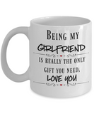 Girlfriend coffee mug Valentine's Gift Girlfriend gift