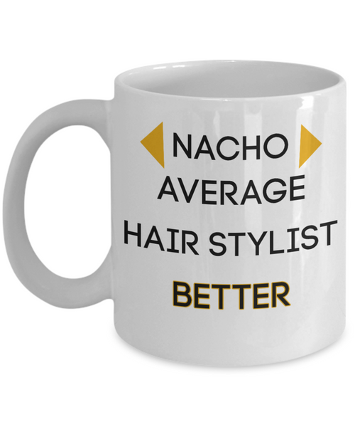 Gifts for hair stylist hair dresser mug beautician gifts