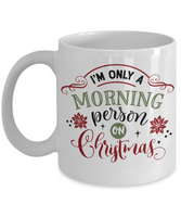 Funny Christmas Coffee Mug Christmas Gift Custom Mug