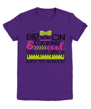 Girls  purple t-shirt cotton top