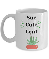 Funny coffee mug Ceramic Cup Gift for Women Succulent Custom Mug with sayings