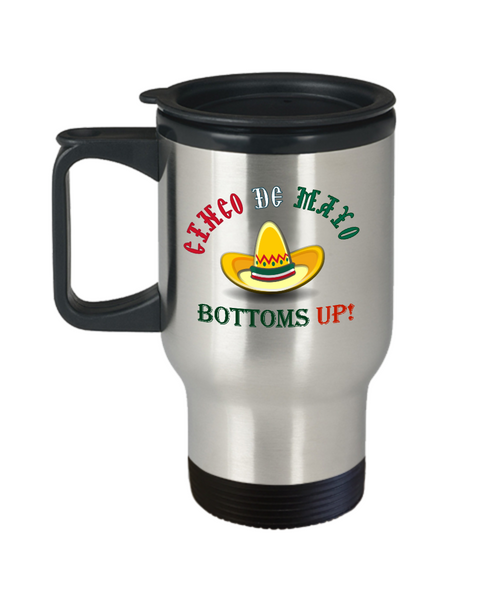 Cinco De Mayo travel mugs