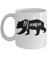 Mama bear coffee mug gift for Mom Mama Mother