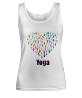 Women's Novelty Yoga Tank Top- Custom Design Shirt-Cotton For Women