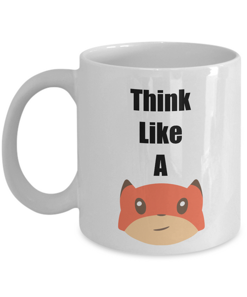 think like a  fox mugs