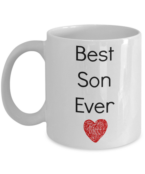 Best Son Ever- Funny- Novelty Coffee Mug- Tea Cup Gift -Family- Mug With Sayings-birthday