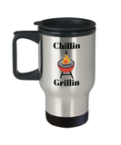 chillin and grillin insulated travel mugs