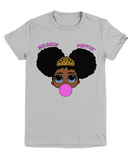 Melanin Poppin Girls Graphic Tee Shirt Girls Top