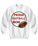 Football Mom Sweatshirt Gift for Mom Personalize Long sleeve T shirt Mom gift
