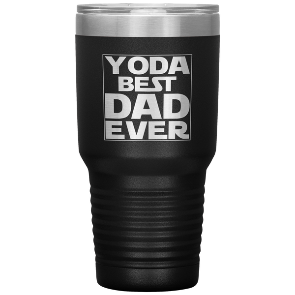 Yoda Best Dad Tumbler for Dad Daddy Father's Day Gift Tumbler Cup Gift