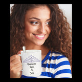 Queens Are Born In June Novelty Coffee Mug Custom Design Coffee Mug