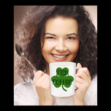 Irish Coffee St. Patrick's Day Novelty Coffee Mug Fun Custom Made Coffee Drinking Cup Gift
